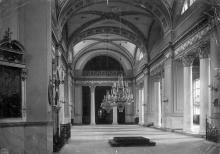 Интерьер собора после реконструкции 1900-1903 г. Западный придел