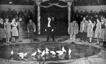 Эмиль Теодорович Кио, братья Ширман в Одесском цирке, 12 марта 1957 г.