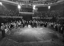 В Одесском цирке, 1970-е годы