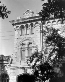 Одесса. переулок Наримана Нариманова (Валиховский), 10. Фотограф В.Г. Никитенко, 1970-е годы