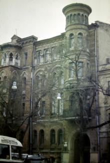 Одесса, ул. Горького (Спиридоновская), 8. Фотограф В.Г. Никитенко. 1970-е годы