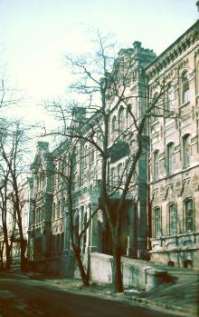 Одесса. переулок Наримана Нариманова (Валиховский), 8. Фотограф В.Г. Никитенко, 1970-е годы