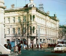 Одесса, дом по ул. Торговой, 24 (угол пер. Княжеский), фотограф В.Г. Никитенко, 1970-е годы