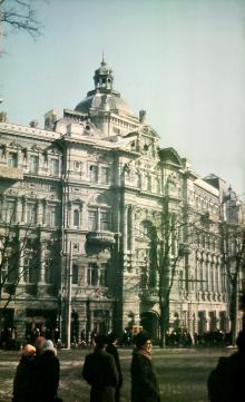 Одесса, ул. Садовая, фотограф В.Г. Никитенко, 1970-е годы