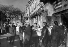 Одесса, похороны директора Одесского цирка Павла Петровича Ткаченко, 1972 г.