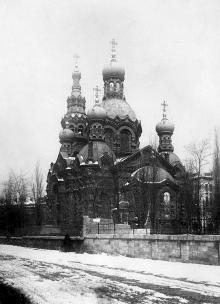 Одесса. Вознесенская (Мещанская) церковь с тыльной стороны