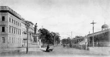 Одесса. Приморский бульвар. Почтовая открытка, конец 19 века
