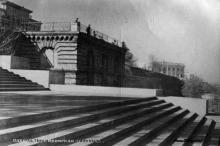 Одесса, Потемкинская лестница. Фотограф В. Пульвер. Почтовая карточка