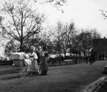 Одесса. На Приморском бульваре. 1900 г.