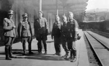 Одесса, на железнодорожном вокзале