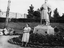 Одесса, ЦПКиО им. Т.Г. Шевченко, фотограф Пётр Никанорович Бойко, июль 1959 г.