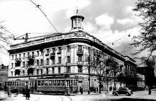 Одесса, ул. Ленина (Ришельевская) угол ул. Карла Либкнехта (Греческая), 1955 г.