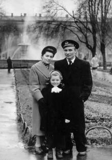 Одесса, на площади Советской Армии, начало 1960-х годов