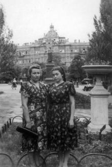 Одесса. На площади Советской Армии. Фотограф Сергей Михайлович Чаховский