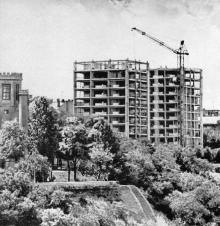 Одесса. Строительство высоток на Комсомольском бульваре