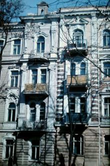 Одесса, ул Короленко, дом 9. Фотограф В.Г. Никитенко, 1975 г.