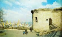 Одесса. Музей в башне бывшей карантинной ограды. Фото Роберта Папикьяна в фотоальбоме «Одесса». 1984 г.