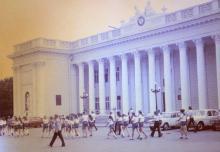 Одесса, на площади Коммуны, фотограф Volker Tommack, 1971 г.