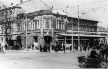 Одесса. Площадь 1905 года (Тираспольская) угол ул. Франца Меринга (Нежинская)