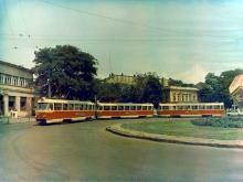 Одесса. Площадь 1905 года (Тираспольская). Фотография из музея ОГЭТ