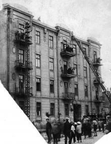 Одесса, дом №28 по ул. Перекопской победы (Градоначальницкой), 1930-е годы