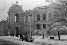 Одесса, ул. Ласточкина. Фотограф Д.П. Климовский. Конец 1970-х годов