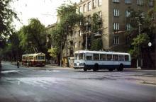 Одесса, ул. Белинского угол ул. Чкалова, 1970-е годы