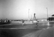 Одесса. Приморский бульвар времен оккупации, фотография 1942-1943 годов