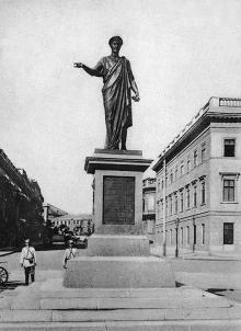Одесса. Памятник Дюку де Ришелье. По подписи 1906 г.