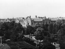 Одесса. Александровский проспект, дом №6 (угол ул. Жуковского). Штаб-квартира румынской православной миссии в Транснистрии. 1943 г.
