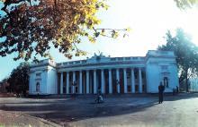 Одесса, площадь Коммуны. 1990 г.