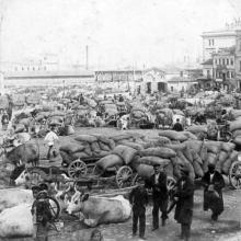 Одесса, на Таможенной площади, 1898 г.