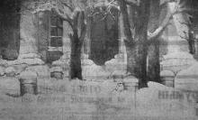 Одесса. Фото-этюд «Зима». Фотограф В. Зегаус, газета «Молва»