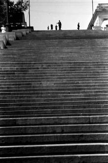 Одесса, бульварная лестница, фотограф Willy Pragher, июнь 1943 г.