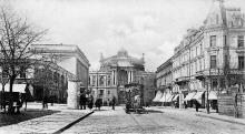 Одесса. Оперный театр со стороны ул. Ришельевской