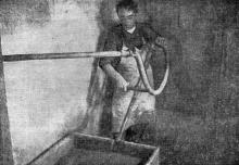 Одесса. Куяльник. Нагрев грязи паром. Фотография из сборника «Одесса-курорт» Одесского курортного управления, 1934 г.