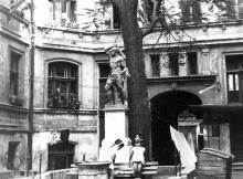 Одесса, двор дома №3 по ул. Торговой, фотограф Аркадий Шашкин, 1968 г.