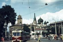 Одесса, ул. Водопроводная (угол Итальянский бульвар). Фотограф Hank Ontropp. 1967 г.