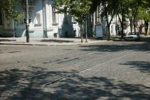Одесса, ул. Греческая угол ул. Пушкинская. Фотограф Вадим Зыкин, 2002 г.