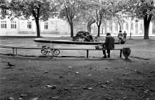 Одесса, на проспекте Мира. Фотограф Евгений Мартыненко, начало 1980-х годов