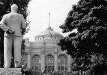 Одесса. В сквере на Привокзальной площади