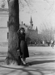 Одесса, в городском саду. 1956 г.