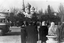 Одесса, на привокзальной площади