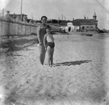 Одесса. На пляже в Люстдорфе. 6 августа 1931 г.