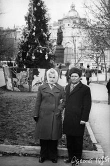 Одесса. На площади Советской Армии. 1975 г.