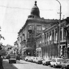 Одесса, ул. Ласточкина, по направлению к Халтурина