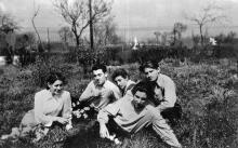 Одесса, в ЦПКиО им. Шевченко. май 1954 г.