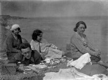 Одесса, пикник в Отраде. 2 мая 1933 г.