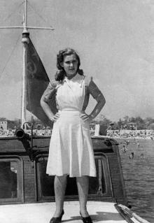 Одесса. Лузановка. Июль 1949 г.