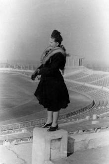 Одесса. Центральный стадион «Пищевик». Начало 1950-х годов